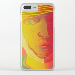 Dear Van Gogh / Stay Wild Collection Clear iPhone Case