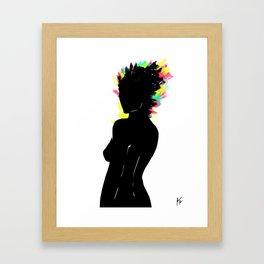 Woman #7 Framed Art Print