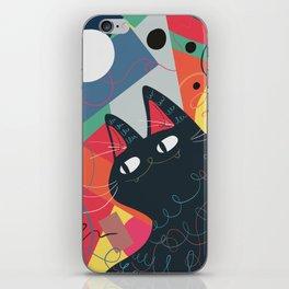 Trumpet Cat iPhone Skin