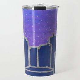 New Orleans City Skyline at Dawn Travel Mug