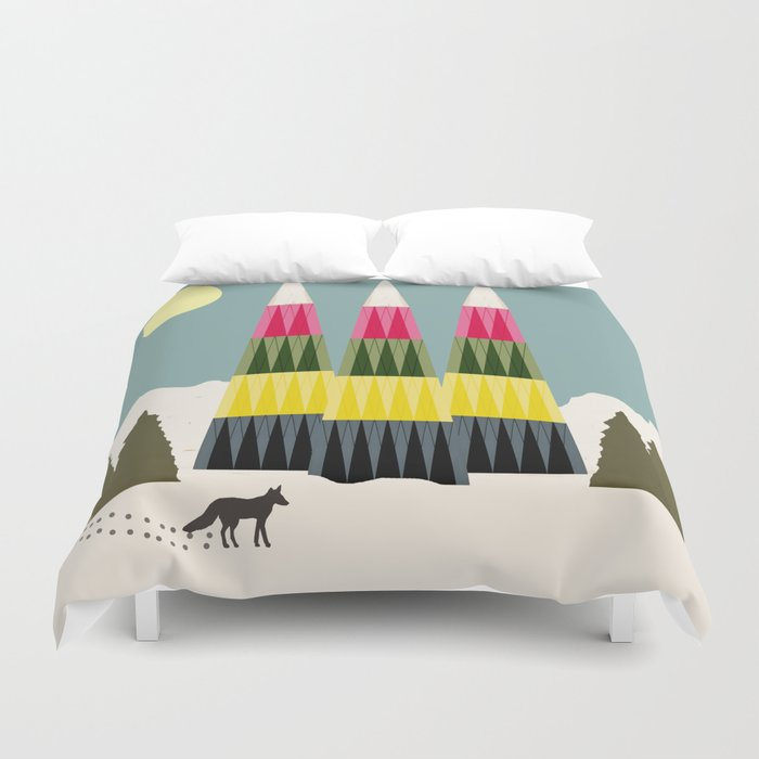 The Clever One Duvet Cover