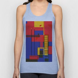 Abstract Architecture Unisex Tank Top
