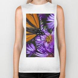 Monarch Butterfly 3 Biker Tank