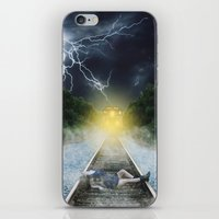 inception iPhone & iPod Skins featuring Inception by Stephanie Massaro
