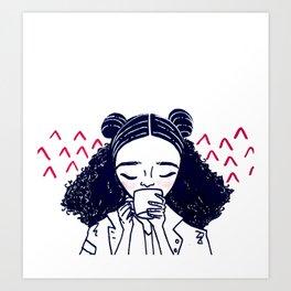 Hot Mess Art Print