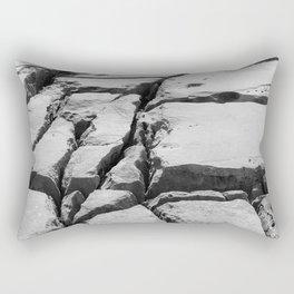 Limestone pavement in the Burren, Ireland Rectangular Pillow