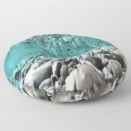 Time To Reflect, Dive Deeper Floor Pillow