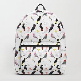 Australian cockatoos pattern Backpack