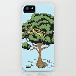 When Nature Wins iPhone Case