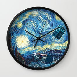 Vincent and The Doctor - Bosphorus Wall Clock