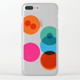 Division II Clear iPhone Case