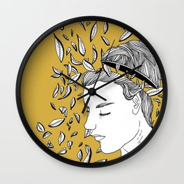 Disconnect Wall Clock