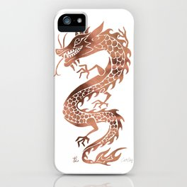 Chinese Dragon – Rose Gold Palette iPhone Case