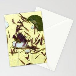 Liquid Pressed Flower Stationery Cards