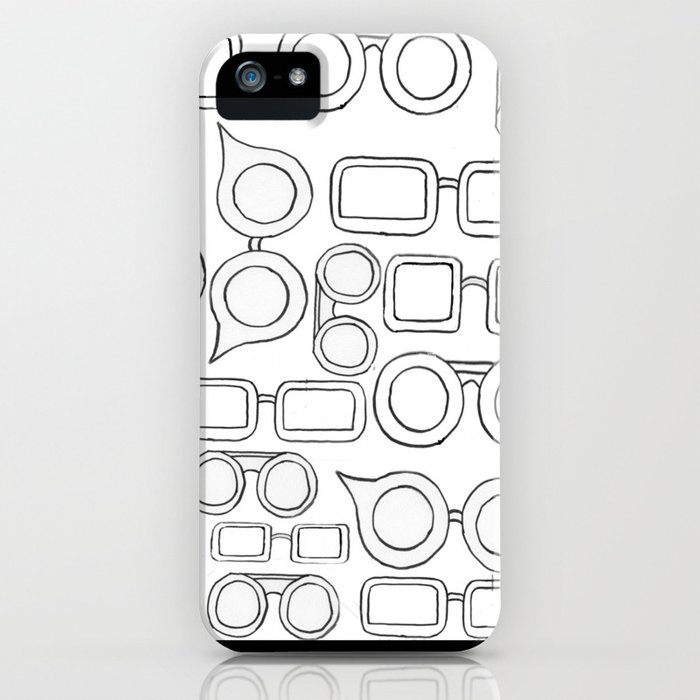 Glasses Galore Iphone Case By Bsteffens