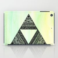 triforce iPad Cases featuring Triforce by Leonnie's Art