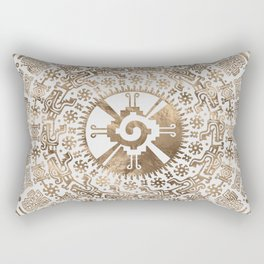 Hunab Ku Pastel gold #2 Rectangular Pillow