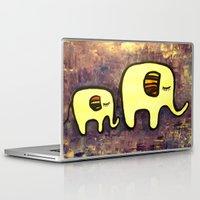 ellie goulding Laptop & iPad Skins featuring Ellie & Phanty by La Papelerie