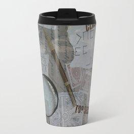 Vintage Detective Design Travel Mug