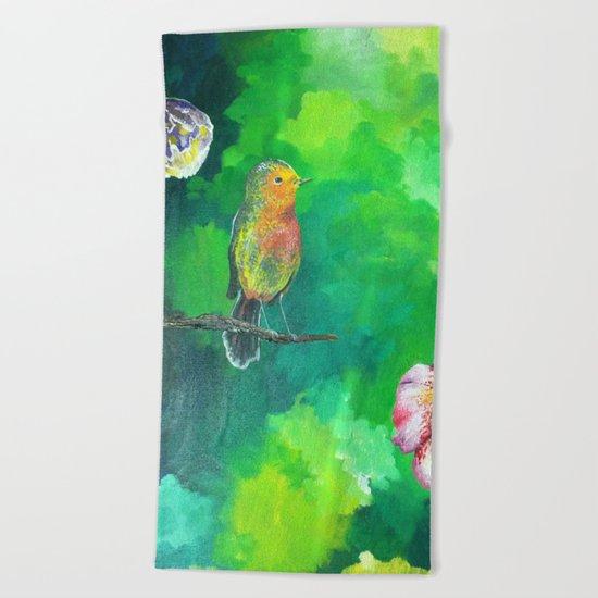 Birdy Dreams Beach Towel