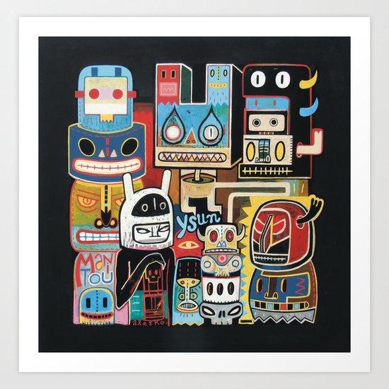 Ysun  Art Print