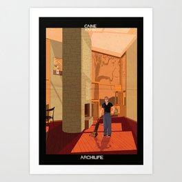 Caine Kahn Art Print