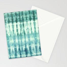 Ombre' Nori Shibori Green Stationery Cards