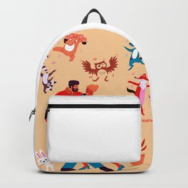 Cute Dancing Couple - My Forever Valentine Young Couple Backpack