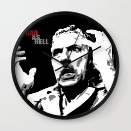 Mad as Hell Wall Clock