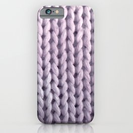hygge: lilac iPhone Case