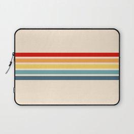 Takaakira - Classic Rainbow Retro Stripes Laptop Sleeve
