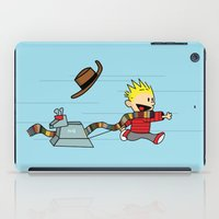 hobbes iPad Cases featuring Playing Doctor by darustinator