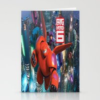 big hero 6 Stationery Cards featuring Big Hero 6  by store2u