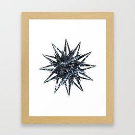 Metal Star Framed Art Print
