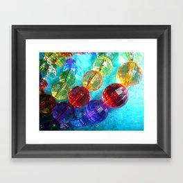 beaded Framed Art Print