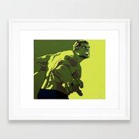 hulk Framed Art Prints featuring Hulk by iankingart