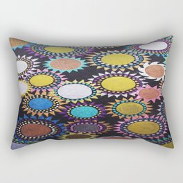 Nightflowers - 2 Rectangular Pillow