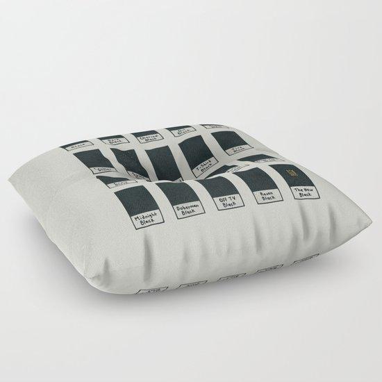 The New Black Floor Pillow