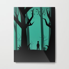 Lost In The Woods Metal Print