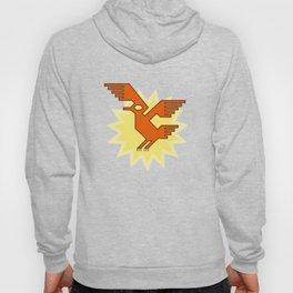 Geometric Andean Condor Bird Hoody