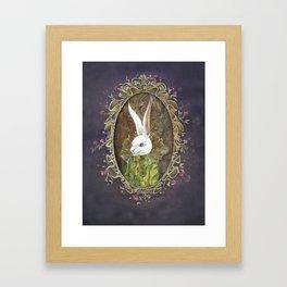 Monsieur Jean Lapin Framed Art Print