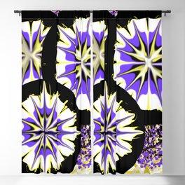 Orlando Flowers Blackout Curtain