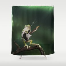A Call for Rain Shower Curtain