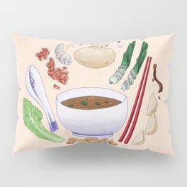 Dumpling Diagram Pillow Sham