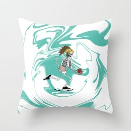 Half Pipe Full of Choices Throw Pillow