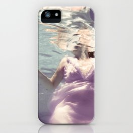 Dive in Violet iPhone Case