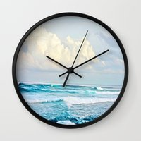skyrim Wall Clocks featuring Water by Whimsy Romance & Fun