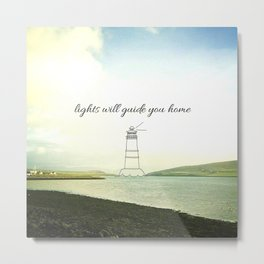 Find Your Way Home Metal Print