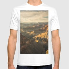 BEAUTIFUL CANYON SUNLIGHT MEDIUM Mens Fitted Tee White