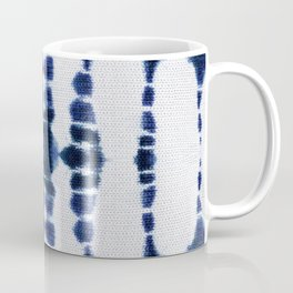 Boho Tie-Dye Knit Vertical Coffee Mug